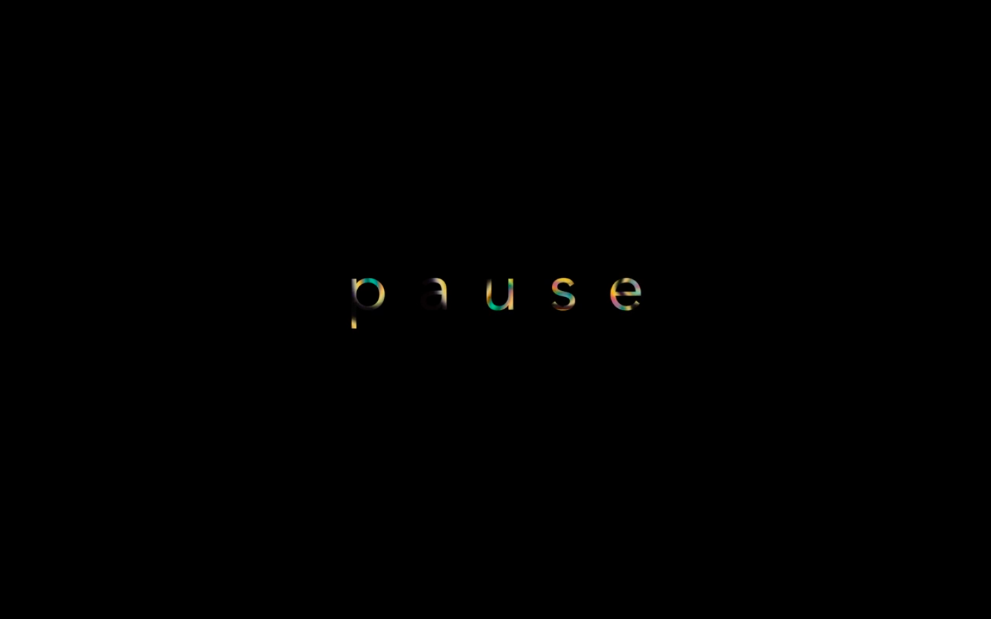 2020 Pause by Richy Carey