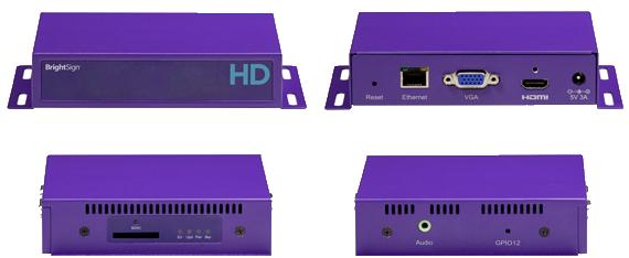 HD220 BrightSign Media Players