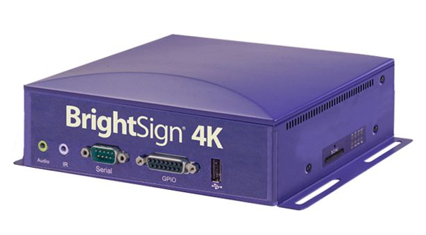 Bright Sign 4K Media Players