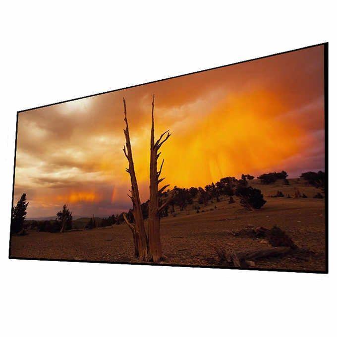 "Elune Vision 106"" Elara NanoEdge Fixed Frame Screen"