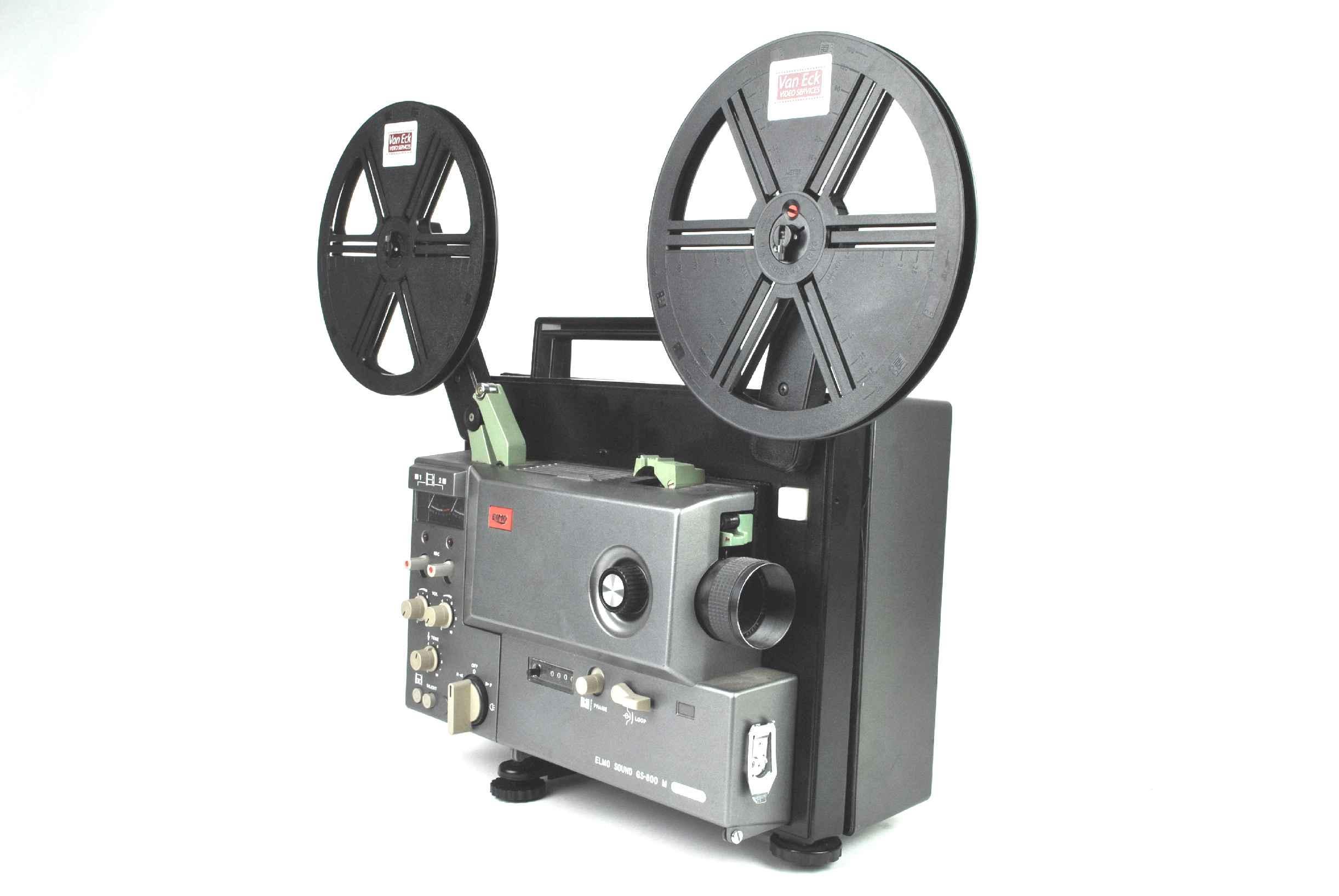ELMO Sound ST-1200HD M 2-Track 8mm Film Projector